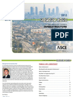 2012 Report Card for Los Angeles County Infrastructure