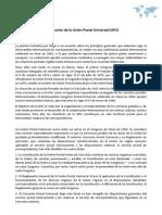 Constitución de la Unión Postal Universal (UPU)
