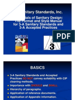 3a Sanitary Standards