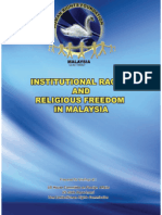 Institutional Racism and Religious Freedom in Malaysia