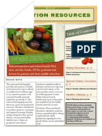 Nutrition Resources