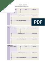 Modelo Documento In04 Analise de Riscos