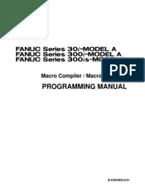 FANUC Macro Compiler_Macro Executor | Subroutine | Parameter