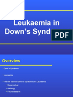 Leukaemia in Down's Syndrome