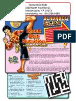 black belt comic issue 2