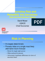 Moser Incorporating Risk and Reliability Into Decisions