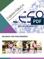 Cuenta Pública CESo 2012