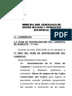 Memoria 2008 ConcejalÍa de Sostenibilidad y PromociÓn e(2)