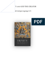 The Trinity and God the Creator - Garrigou Lagrange
