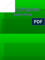 21108577 Nclex 100 Questions and Answers With Rationale Pediatric Nursing