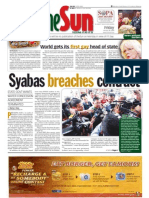 TheSun 2009-01-30 Page01 Syabas Breaches Contract