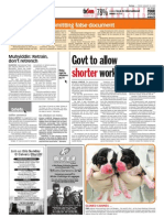 TheSun 2009-01-30 Page06 Govt to Allow Shorter Work Week