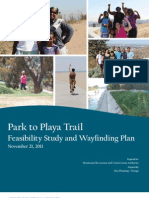 Park to Playa Trail Feasibility Study and Wayfinding Plan