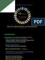 Programa Sociologia