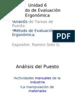 2870505 Metodos de Evaluacion Ergonomica