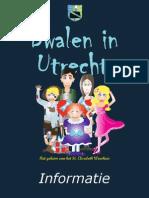Informatiebrochure Dwalen in Utrecht