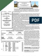 St. Joseph's November 25, 2012 Bulletin