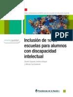 Inclusión de Tic's en escuelas para alumnos con discapacidad intelectual