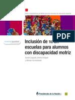 Inclusión de Tic's en escuelas para alumnos con discapacidad motriz