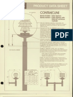 Moldcast Lighting Product Data Sheet Contra Cline Clear Sphere 1979