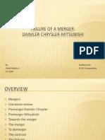 The Daimler Chrysler Merger