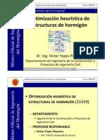 Optimización Heurística de Estructuras de Hormigón