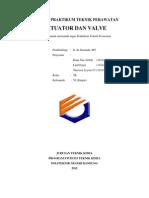 Laporan Praktikum Teknik Perawatan Aktuator