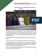 La Verdad de Lo Que Realmente Ocurrio a La Iglesia Catolica Despues Del Concilio Vaticano II Capitulo I