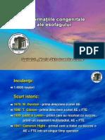 Malf. Cong Esofag + Hernii Congenit