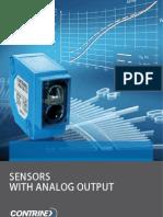 CONTRINEX Analog Sensors