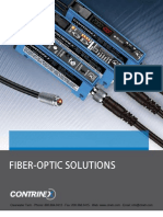 CONTRINEX Fiber Optic Solutions