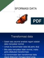 Transformasi Data Xi