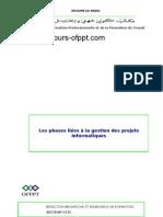 Les phases liées à la gestion des projets informatiques