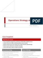 Operations Strategy at Galanz - Case Analysis