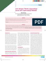 30_196Teknik-Miomektomi Dengan Teknik Laparoskopi Konvensional Dan Laparoskopi Robotik