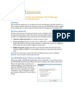 Using Microsoft Vista and Windows XP to Manage - Application Note
