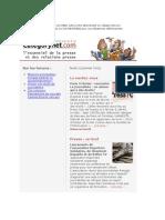 Categorynet.com du 29 janvier 2009