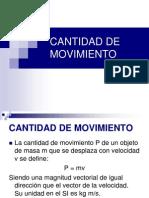 CANTIDAD DE MOVIMIENTO)(2º medio