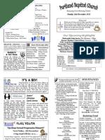 PBC Bulletin - 2nd December