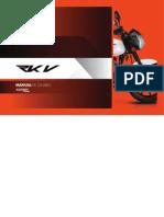 Maual de usario Keeway-RKV
