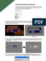 Uso de la opción Fusionar (Merge) en 3dstudio max