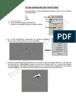 Animación de objetos usando una ruta o Path