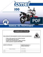 Manual del Propietario Motomel Sirius 200 - 250 cc
