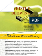 Whistleblowing (1)
