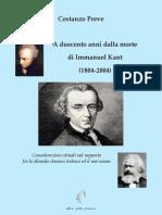 A Duecento Anni Dalla Morte Di Kant - 2004