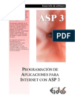 Programacion de Aplicaciones Con ASP 3