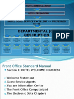 Hotel Internal Audit for Front Office