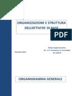 Organizzazione e Struttura Dell'Attivita Di Base