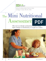 Nutrition Assessment for Elderly
