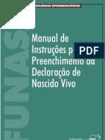 Manual - Declaracao de Nascidos Vivos.PDF